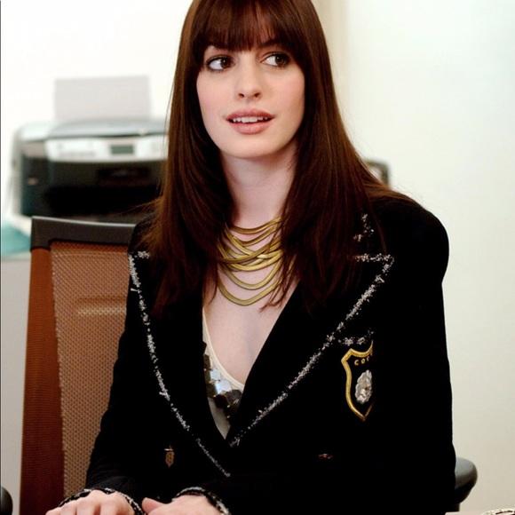 Iconic Chanel 05C Devil Wears Prada Navy Jacket